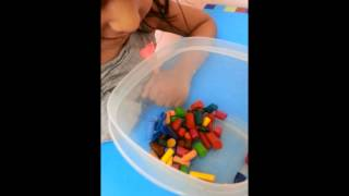 How to Melt Crayons and recycle them