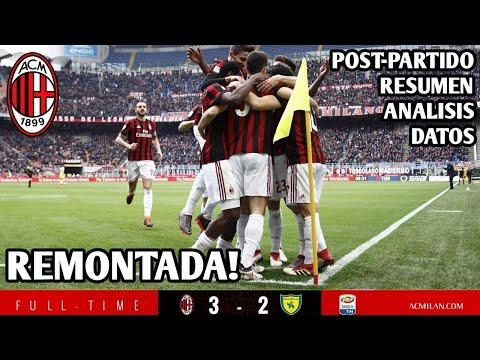 AC MILAN 3-2 CHIEVO! REMONTADA EPICA! ANDRE, CALHA Y CUTRO!