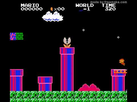 World 49 fail lol - Mario 256W (256 worlds) (NES) - Vizzed com GamePlay  (rom hack)