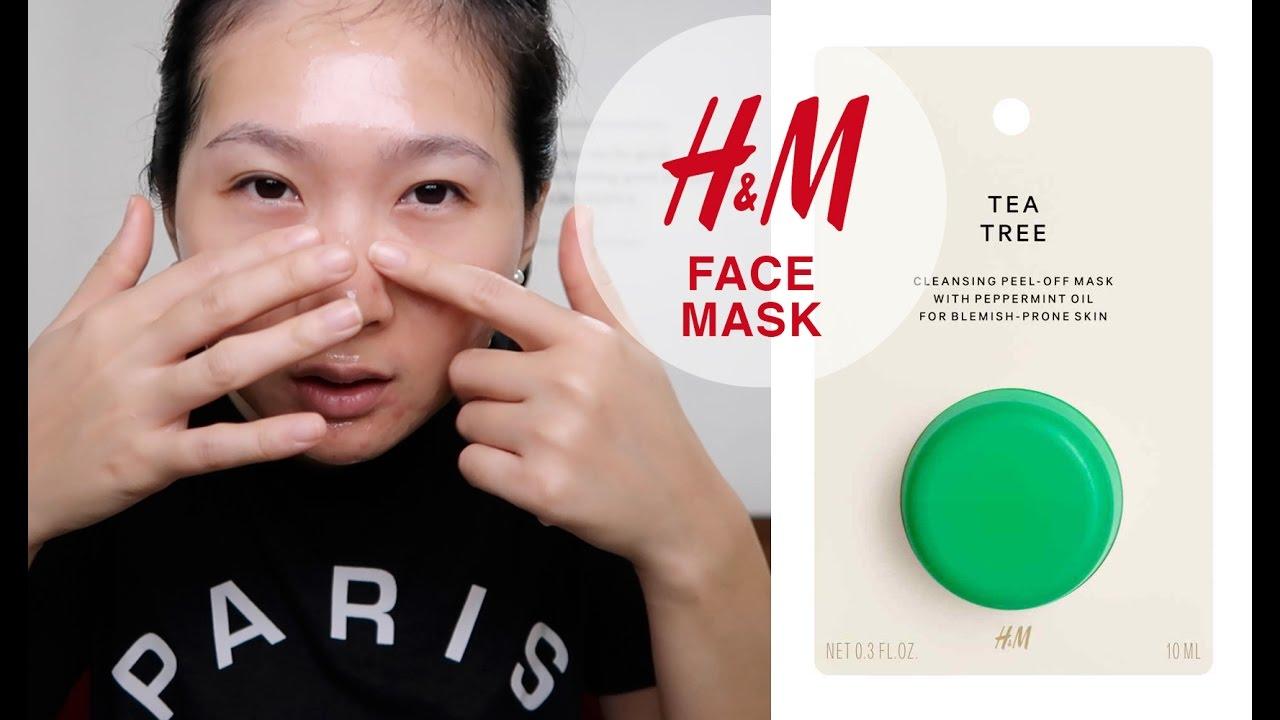Beauty Review Tea Tree Face Mask Hm For Acne Prone Skin Masker Hm Muka Berjerawat