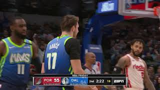 Dallas Mavericks vs Portland Trail Blazers | January 17, 2020