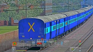 PC GAME Railworks Train Simulator 2018 Jan Nayak Express with WDG4