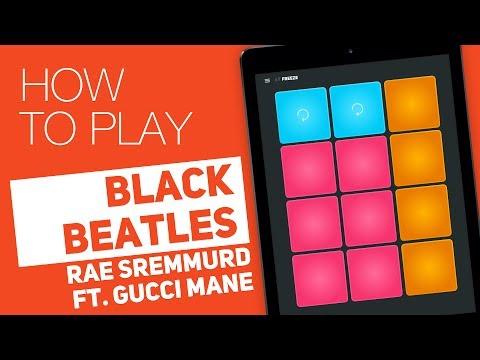 How to play: BLACK BEATLES (Rae Sremmurd...