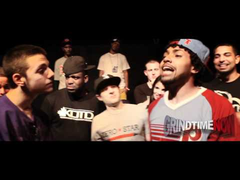 Grind Time Now presents: Troy Brown & Roosevelt vs Aak & Rugged