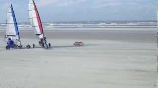 Landsailing on Terschelling