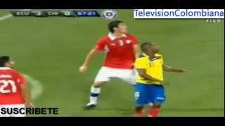 Ecuador 3 vs Chile 0 - 15/Agosto/2012 - Partido Amistoso - Estadio Citi field de los Mets