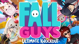 【Fallguys】帰ってきたAllguys【Vtuber/天開司/歌衣メイカ/ガッチマンV/兎鞠まり】