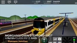 Stepford County Railway Morganstown Stepford East Airlink Class 332 5 Car Set