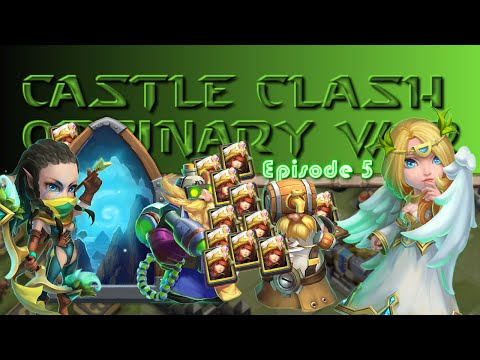 Castle Clash - Here Be Monsters C And Frost Witch Card Opening : Ordinary War Ep. 5