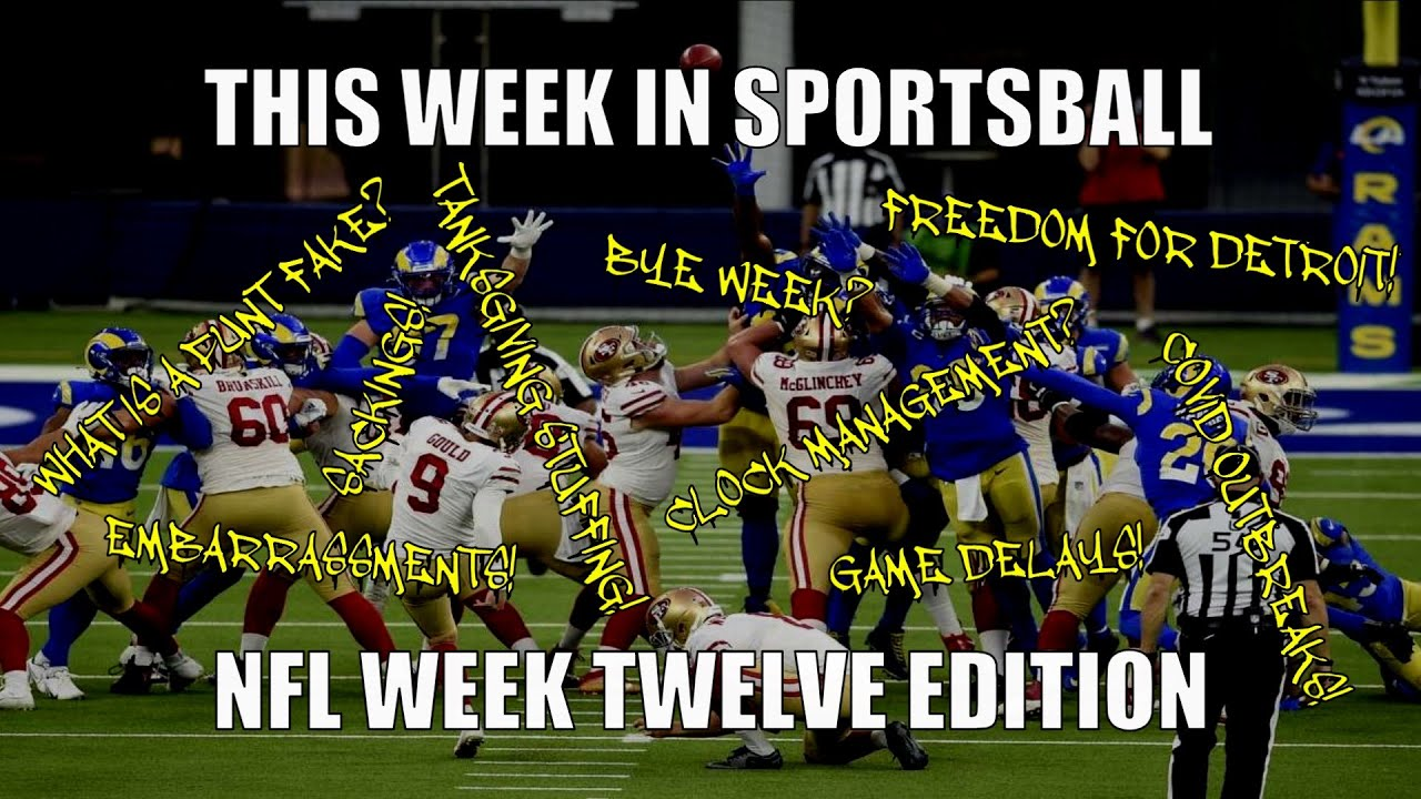This Week in Sportsball: NFL Week Twelve Edition (2020) - download from YouTube for free