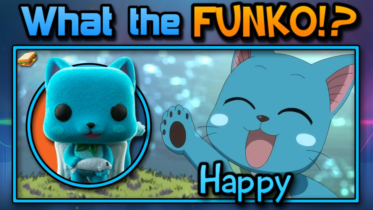 Fairy Tail - Happy (Flocked) - Funko Pop Unboxing Review ...