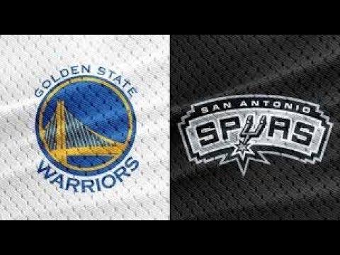 Golden State Warriors vs San Antonio Spurs GAME 1-NBA PLAYOFFS APRIL 14 2018