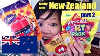 Emmy Eats New Zealand: tasting Marmite & Kiwi sweets