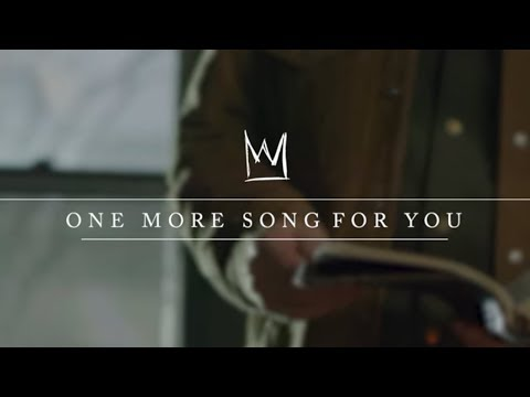 Casting Crowns - One More Song For You (Mark Hall Teaching Video)