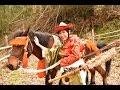 スポーツ流鏑馬入門6・中村桜やぶさめ修行1 Yabusame horse back archery schooling for Sakura Nakamura