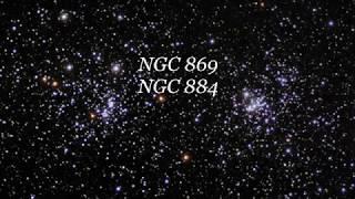 ngc 869 ngc 884