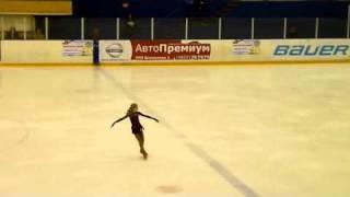Елена Радионова, произвольная программа