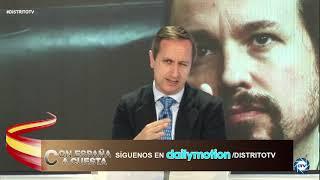 Carlos Cuesta: Detenidos dos escoltas de Iglesias por atacar a policías en mitin de Vox en Vallecas