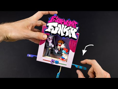 VENDREDI NUIT FUNKIN - mais c'est un DIY Rock'Em Sock'Em in a Frame