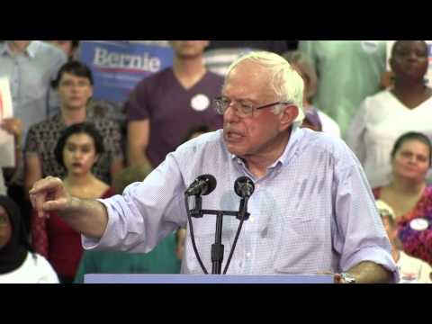 Bernie Sanders, Seattle, Aug 8, 2015 - HD