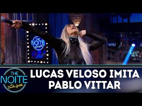 Lucas Veloso imita Pablo Vittar| The Noite (28/05/18)