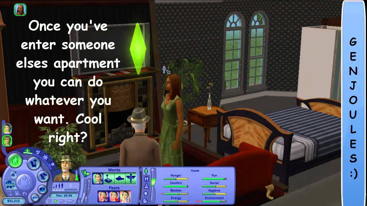 The Sims 2 Apartment Life Play