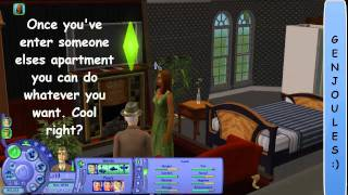 The Sims 2 Apartment Life - Gameplay