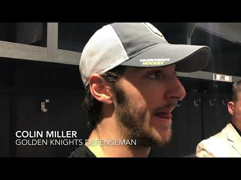Colin Miller says the Golden Knights power play will improve with time