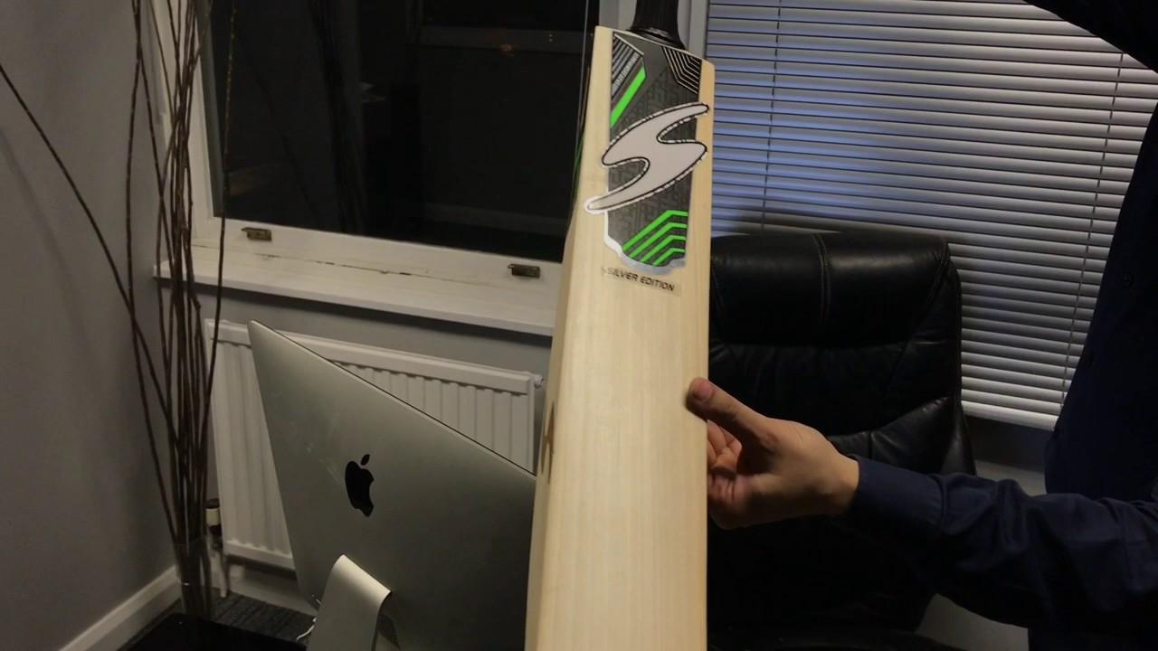 S Ton Silver Edition Cricket Bat Video Review