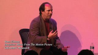 Hans Zimmer at the GRAMMY Museum (3)