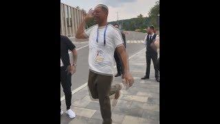 Уилл Смит танцует на ЧМ 2018