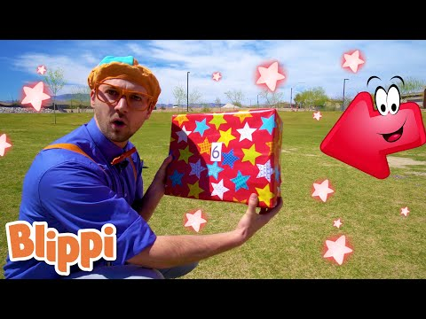 BLIPPI Learns Numbers 1 to 10! | ABC 123 Moonbug Kids | Fun Cartoons | Learning Rhymes
