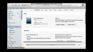 Cara Restore iPhone iPad dan iPod Touch dengan Stock Firmware di iTunes