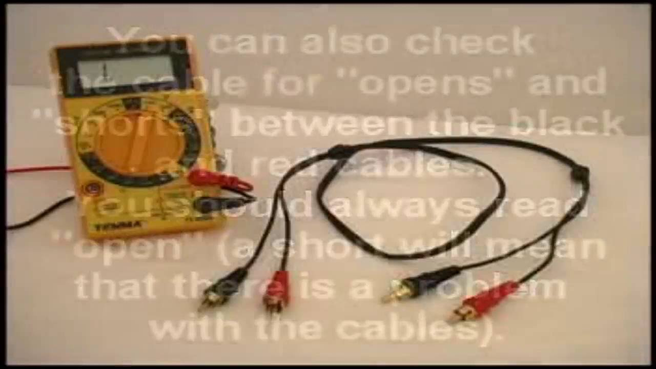 Rca Wires Tester - WIRE Center •