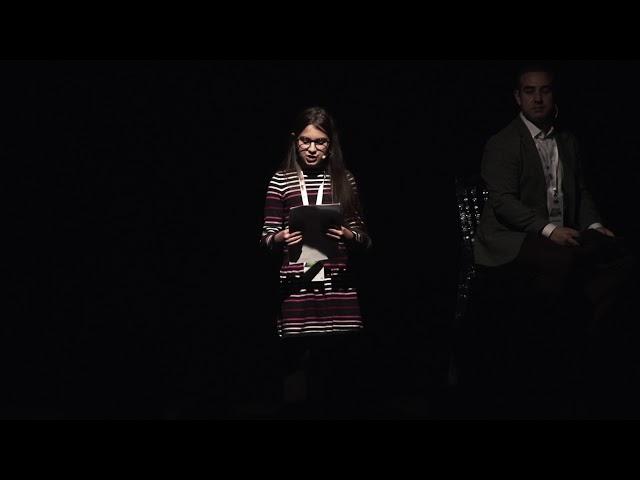 """Lidya Lara Şahin'in """"1.Yerel İklim Eylemi Uluslararası Konferansı""""ndaki konuşması"""