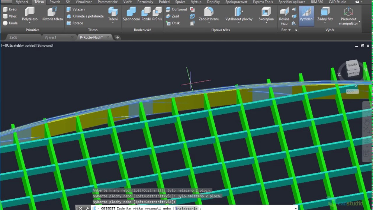 CAD Forum - How to trim 3D solids with other 3D solid (3D trim)