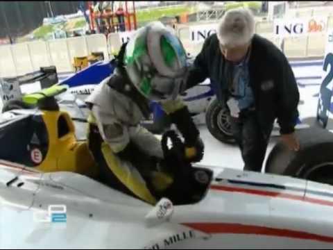 Indian F1 driver Karun Chandhok creates history by winning ...