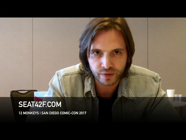 Aaron Stanford 12 MONKEYS Interview Comic Con HD