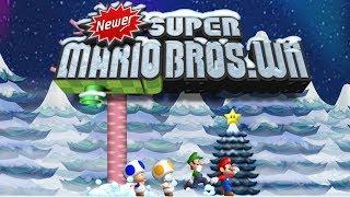 Newer Super Mario Bros Wii: Holiday Special 100% Walkthrough (All Star Coins & Secret Exits)