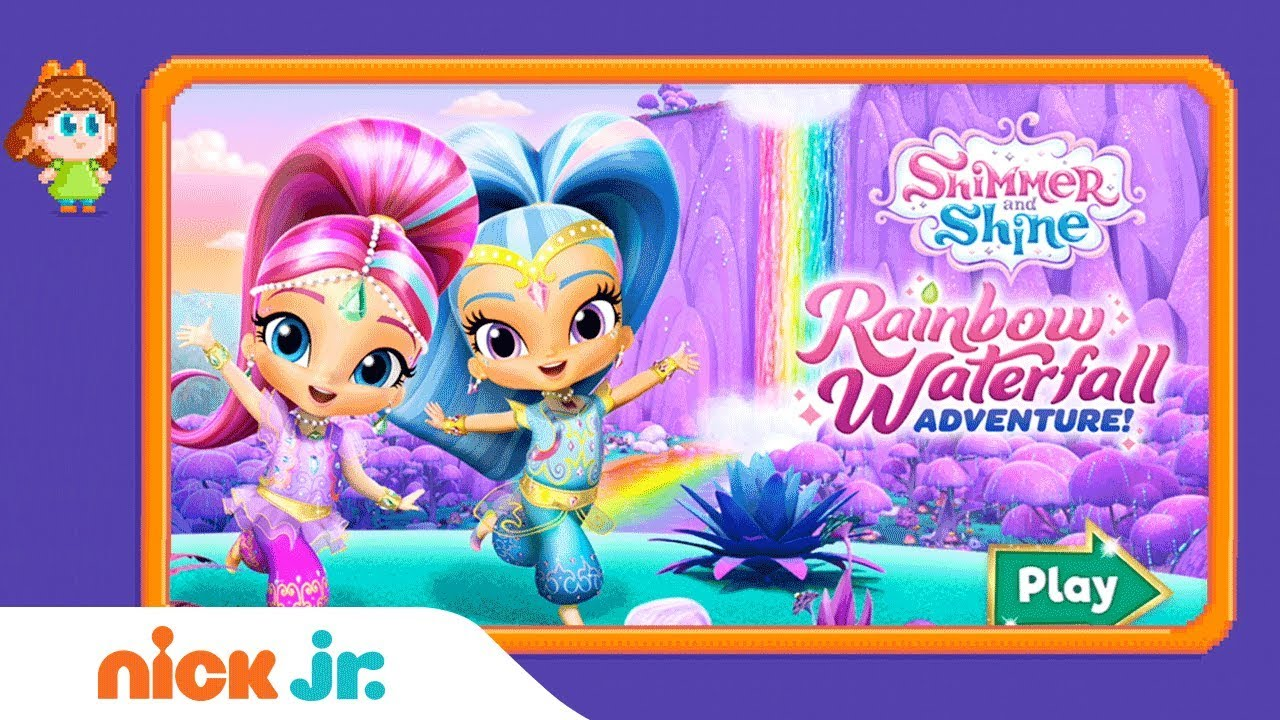 17c1560cc0 Shimmer and Shine: 'Rainbow Waterfall Adventure' Game Walkthrough | Nick  Jr. Gamers - YouTube
