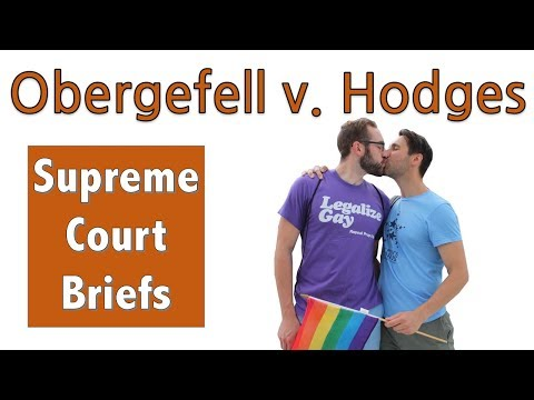 Same-Sex Marriage Becomes Legal | Obergefell V. Hodges