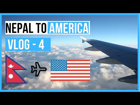 Nepal to USA || Travel Vlog - 4 || Nepali in USA