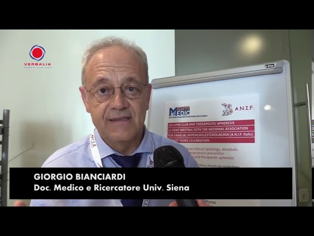 INTERVISTA A GIORGIO BIANCIARDI. 15th LIPID CLUB - IL CONGRESSO.  20° ANNIVERSARIO ANIF