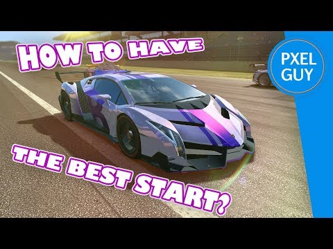 HOW TO HAVE THE BEST START IN REAL RACING 3 Tips And Tricks