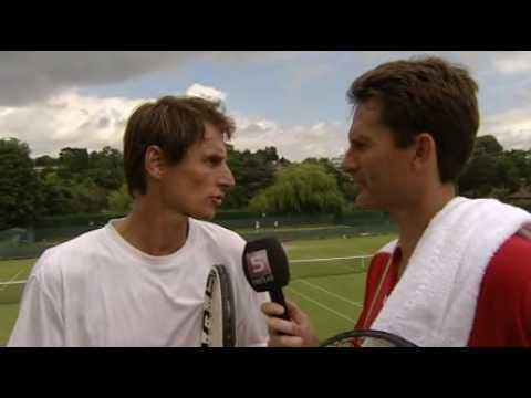 Wimbledon 2010: Interview met Paul Haarhuis