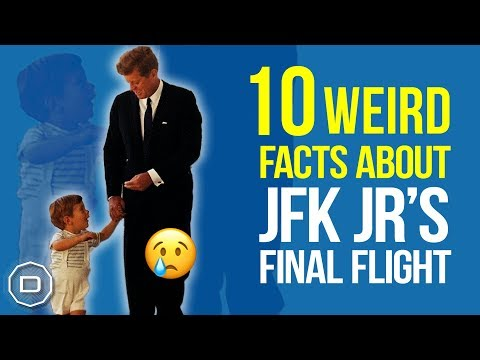 10 WEIRD FACTS ABOUT JFK JR'S FINAL FLIGHT