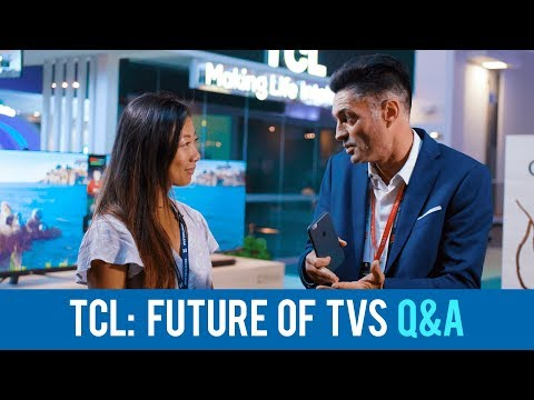 "Hi-Talk: TCL debuts bezel-less C76, ""the future of TV"""