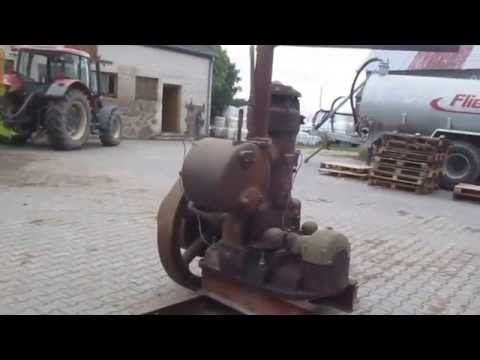 STANDMOTOR -engine , Deutsche Werke Kiel  , es