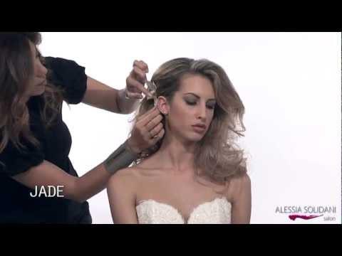 Alessia Solidani Acconciatura Sposa Collezione 2013mp4 Youtube