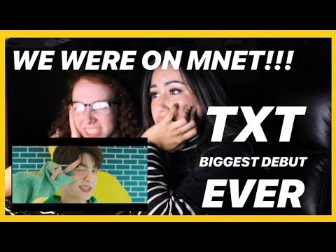 TXT DEBUT REACTION / MNET INTRO, CROWN MV, STAGE DEBUT